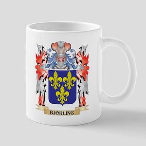 Bjorling Coat of Arms - Family Crest Mugs