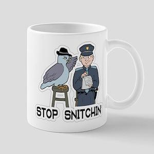 Stop Snitching Mugs