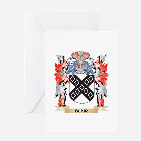 Blair Coat of Arms - Family Crest Greeting Cards