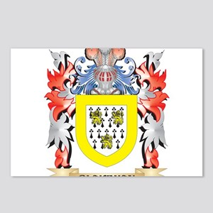 Blakeman Coat of Arms - F Postcards (Package of 8)