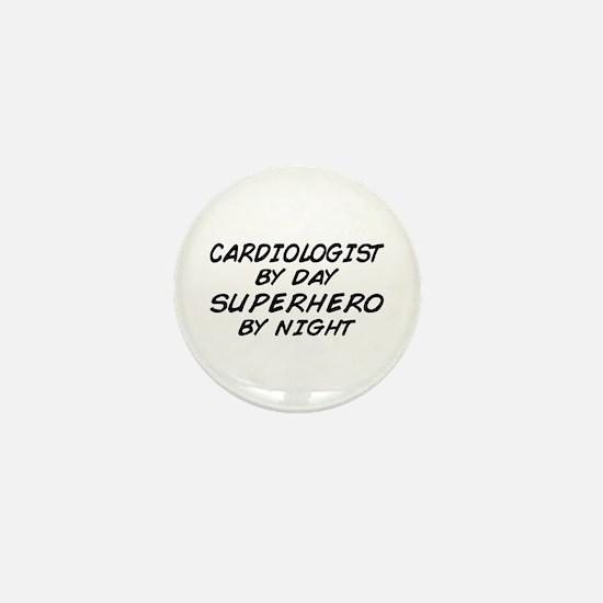 Cardiologist Superhero Mini Button