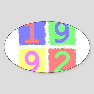 1992 Sticker