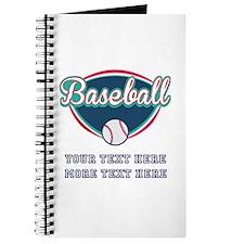 Custom Baseball Fan Journal