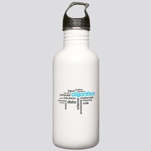 word cloud - algorithm Stainless Water Bottle 1.0L