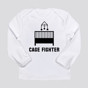 CribCageFighter1A Long Sleeve T-Shirt