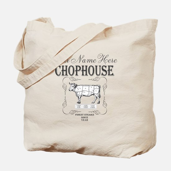 Vintage Chophouse Tote Bag