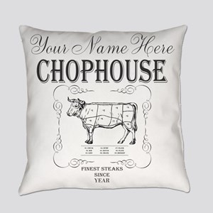 Vintage Chophouse Everyday Pillow