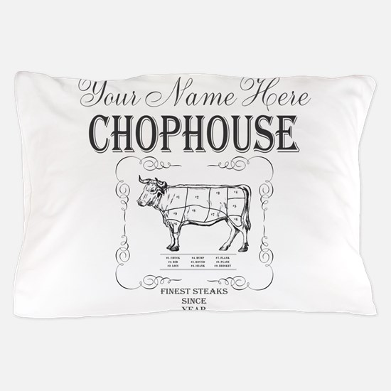 Vintage Chophouse Pillow Case