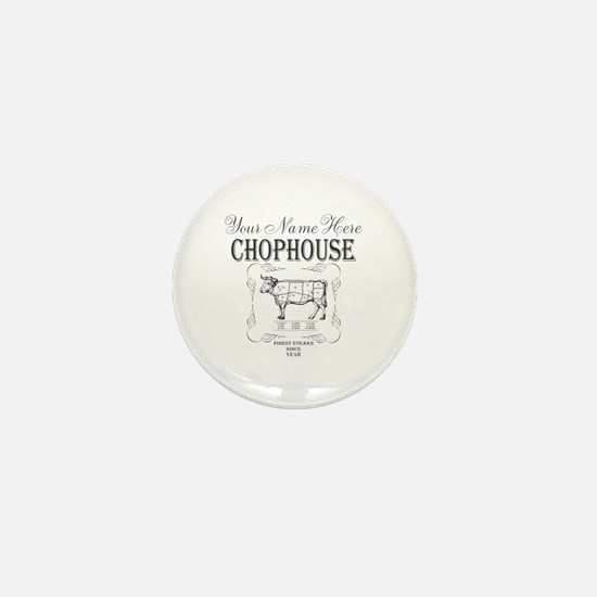Vintage Chophouse Mini Button