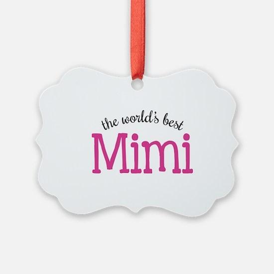 World's Best Mimi Ornament