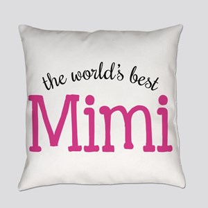 World's Best Mimi Everyday Pillow