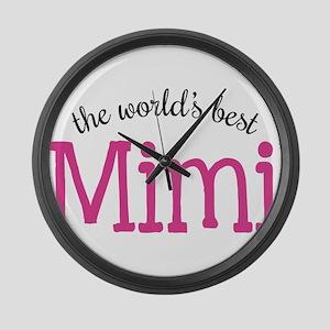 World's Best Mimi Large Wall Clock