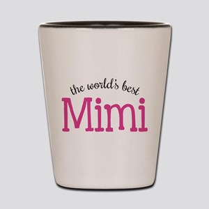 World's Best Mimi Shot Glass