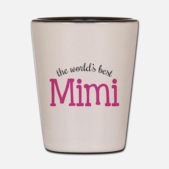 World's Best Mimi Shot Glass