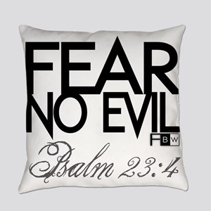 Fear No Evil Everyday Pillow