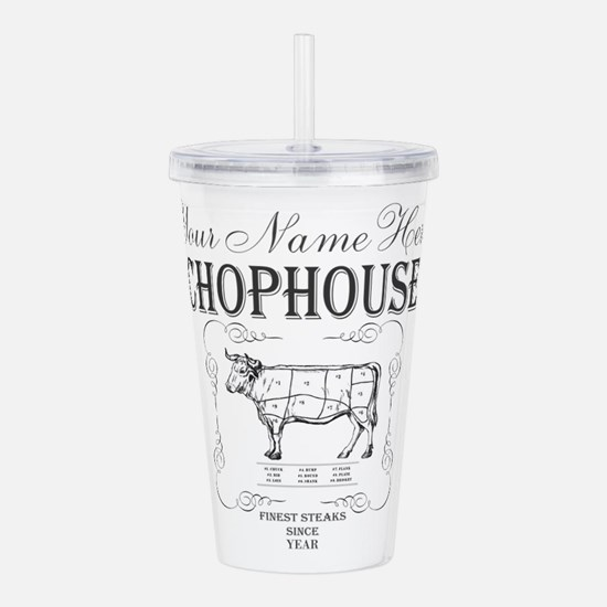 Vintage Chophouse Acrylic Double-wall Tumbler