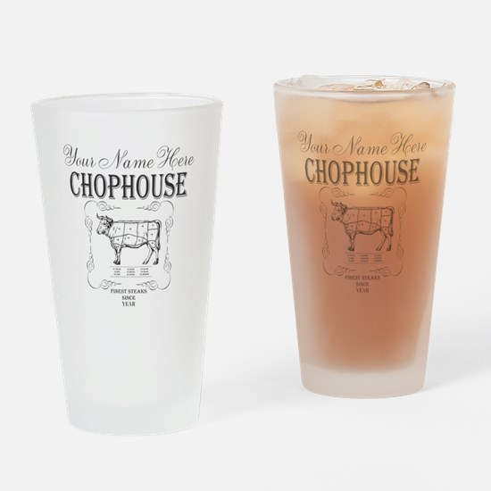 Vintage Chophouse Drinking Glass