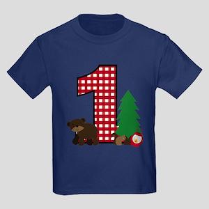 Woodland 1st Birthday T-Shirt