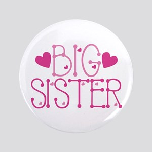 Heart Big Sister Button