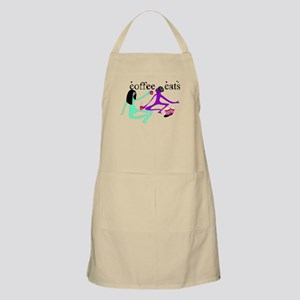 COFFEE CATS BBQ Apron