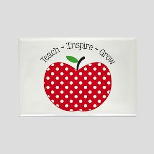 Teach Inspire Grow Magnets