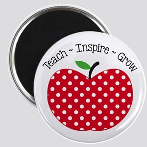 Teach Inspire Grow Magnets