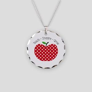 Teach Inspire Grow Necklace