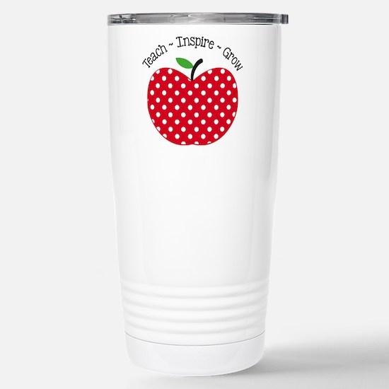 Teach Inspire Grow Travel Mug