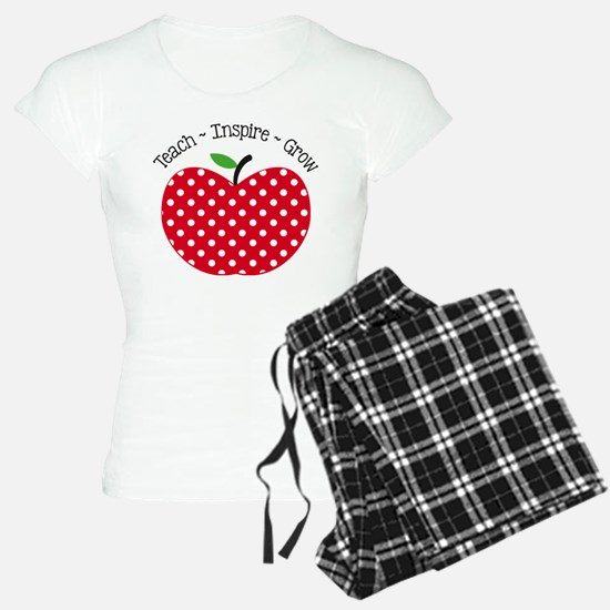 Teach Inspire Grow Pajamas