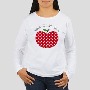 Teach Inspire Grow Long Sleeve T-Shirt
