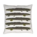 Ornate Bichir Everyday Pillow