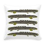 Ornate Bichir Everyday Pillow