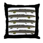 Ornate Bichir Throw Pillow