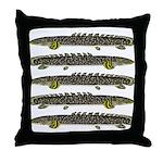 Ornate Bichir Throw Pillow