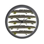 Ornate Bichir Wall Clock