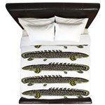 Ornate Bichir King Duvet