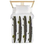 Ornate Bichir Twin Duvet