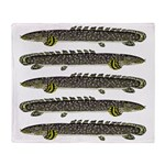 Ornate Bichir Throw Blanket
