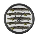 Ornate Bichir Large Wall Clock