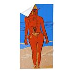 Girl Beach Towel