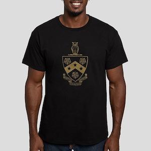 Phi Gamma Delta Crest Men's Fitted T-Shirt (dark)
