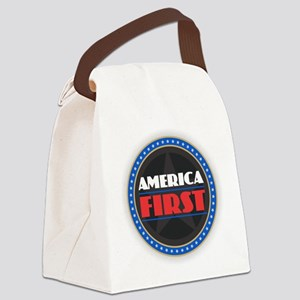 AMERICA FIRST Canvas Lunch Bag