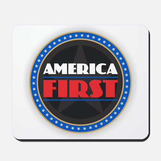 AMERICA FIRST Mousepad