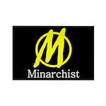 Minarchist Rectangle Magnet (100 pack)