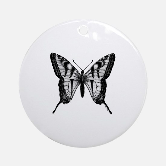 Cute Illu Round Ornament