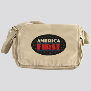 AMERICA FIRST Messenger Bag