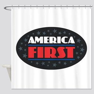 AMERICA FIRST Shower Curtain