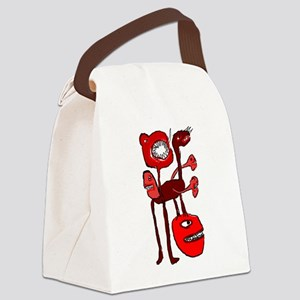 Inbred Animal Tentacle Attack Canvas Lunch Bag