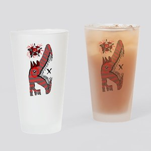 Star Eyed Gator Drinking Glass