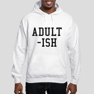 Adult-ish Hooded Sweatshirt